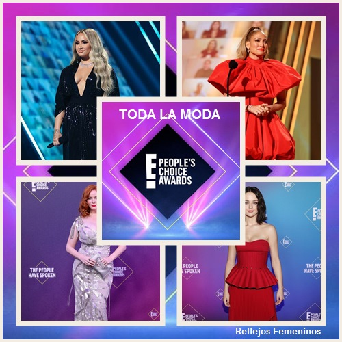 Brillando la moda en los People's Choice Awards