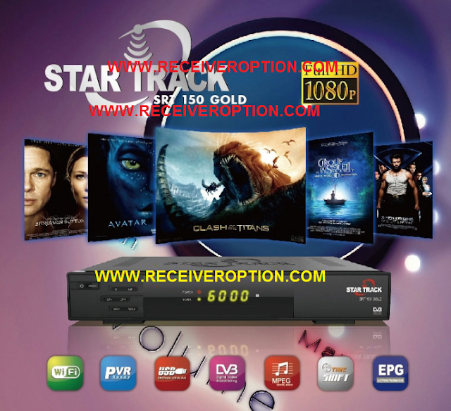 STAR TRACK SRT 150 GOLD HD RECEIVER NEW DUMP FILE WITH POWERVU OK