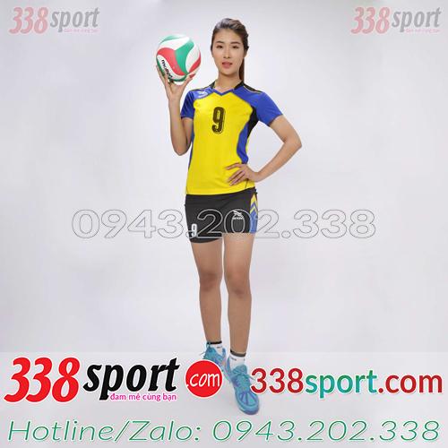 Mẫu Áo Bóng Chuyền Nữ Beyono Speed Vàng