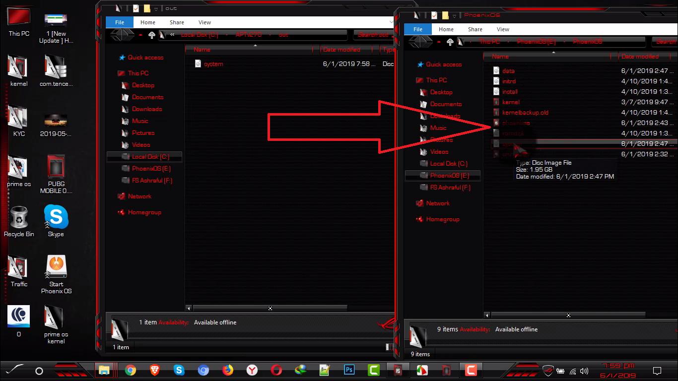 Permanent Lag Fix Phoenix OS Pubg Mobile, Install prime os