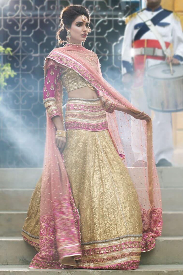 Ayesha Ibrahim Engagement, Mehndi, Nikah, Barat and Walima Bridal Dresses