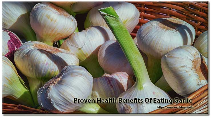 Proven Health Benefits Of Eating Garlic