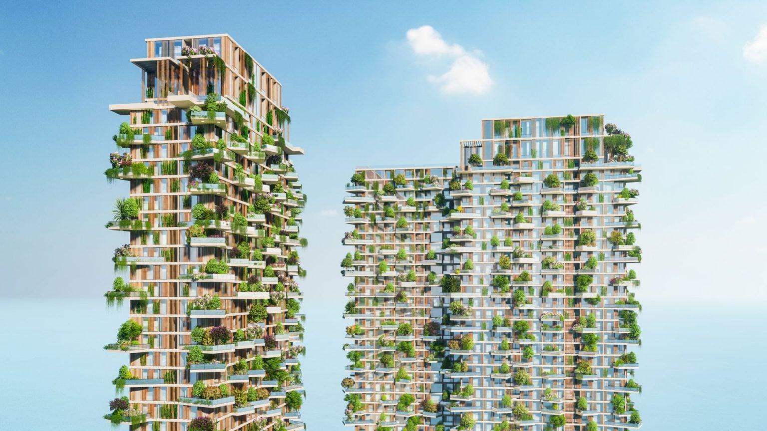 Vietnam tallest vertical forest tower