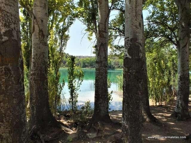 un día de baño en las lagunas de Ruidera