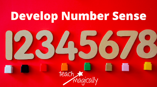 Numbers and blocks Teach Magically