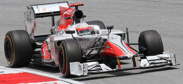 Gambar Mobil Balap F1 Hispania 01