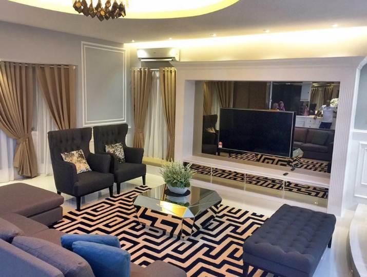 Desain Ruangan Rumah Minimalis 1 Lantai bagian ruang tengah atau keluarga