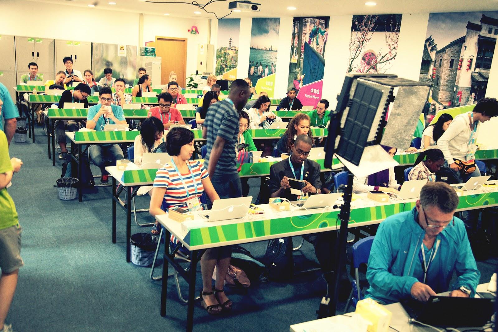 قاعة الإعلاميين الشباب