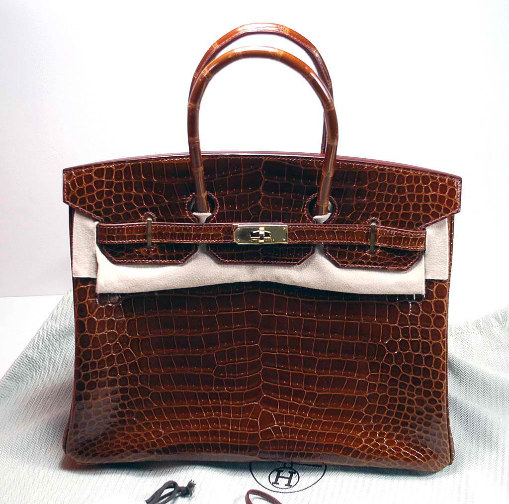 How To Tell If A Handbag Is Genuine Crocodile
