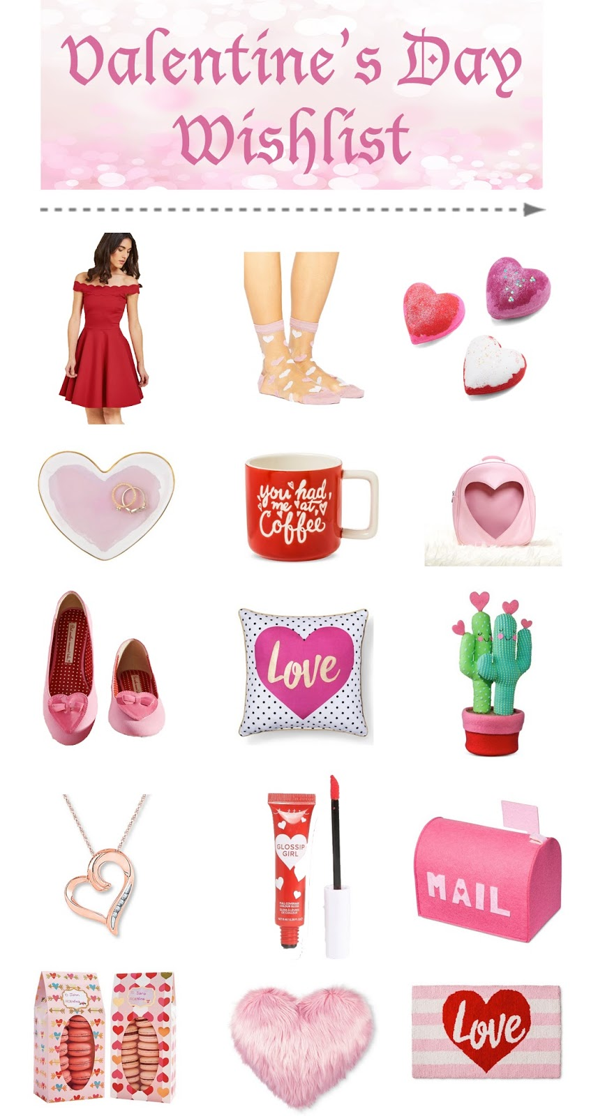 Treat a loved one or yourself to these cute Valentine's Day goodies!