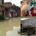 सीतामढ़ी में बाढ़ का कहर, देखते ही देखते दो घर हुआ ध्वस्त