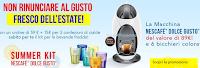Logo Macchina Nesacafè bevande fredde + 6 bicchieri e cialde : tutto Gratis