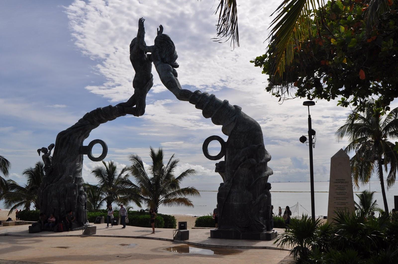 Foto de Playa del Carmen, el portal maya