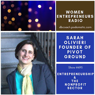Sarah Olivieri on Women Entrepreneurs Radio