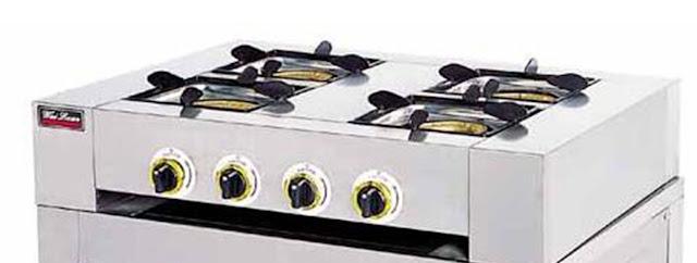 Bếp âu 4 họng lò nướng Wailaan EQ-4