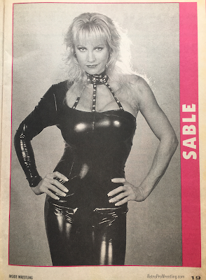 Inside Wrestling  - November 1998 -  Sable