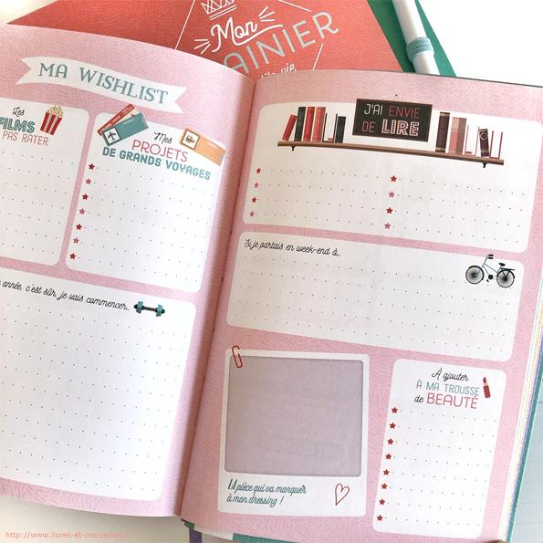 L'Agenda journalier et Mon semainier de ma petite vie bien remplie - Larousse