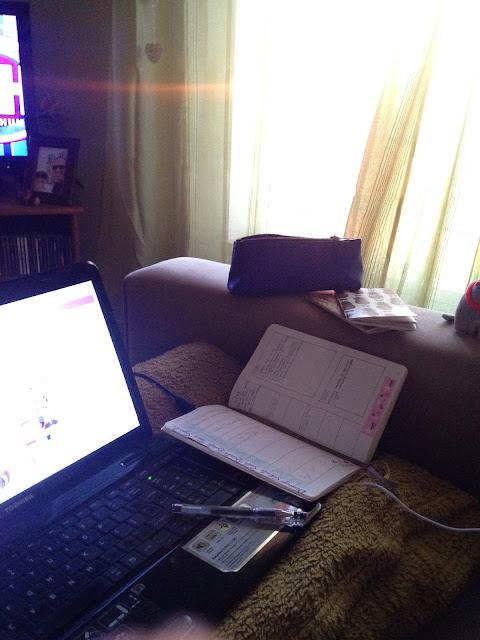 trabalhar no sofá