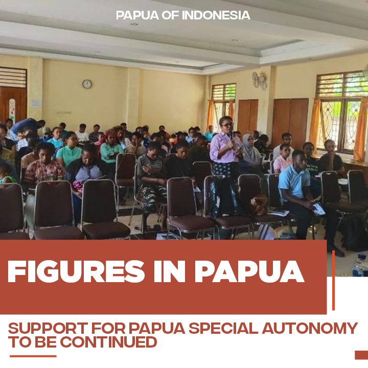 Leaders in Papua Support Papua's Special Autonomy to be continued