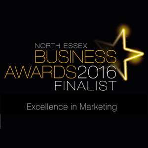 North Essex Excellence in Marketing Awards finalist - Laban Brown Design Agency Essex