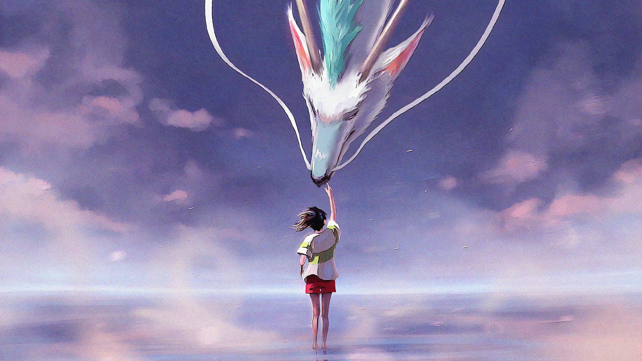 Spirited Away Chihiro Haku