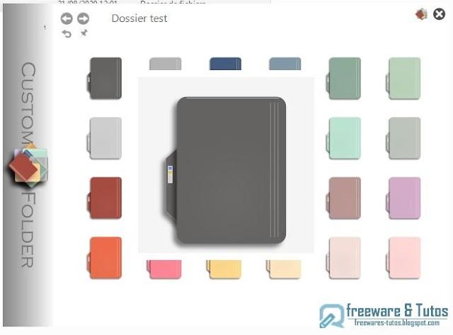 CustomFolder : personnalisez facilement vos dossiers avec des couleurs et des emblèmes