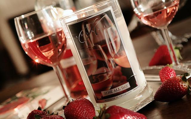Recenzja przy winku... ;) Rose All Day Kringle Candle - Czytaj więcej »