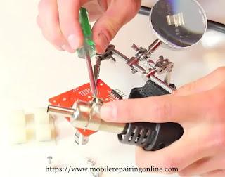 Fixing the nozzle
