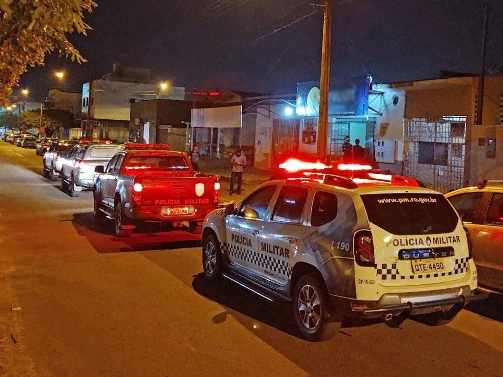 """Polícia Militar de Cacoal desencadeia """"Operação Reforço"""" em Cacoal e municípios vizinhos"""