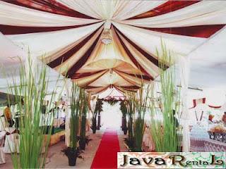 Sewa Tenda Dekorasi VIP - Sewa Tenda VIP Murah