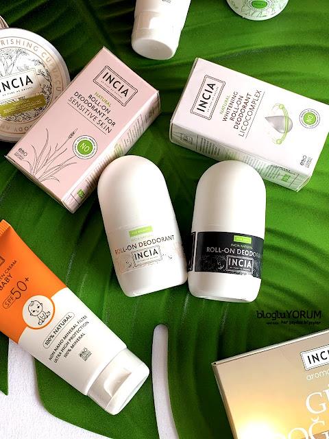 incia doğal bakım ürünleri kullananlar