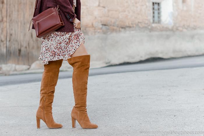 Blog adicta a los zapatos Botas altas mosqueteras por encima de la rodilla Over the Knee Boots de ante