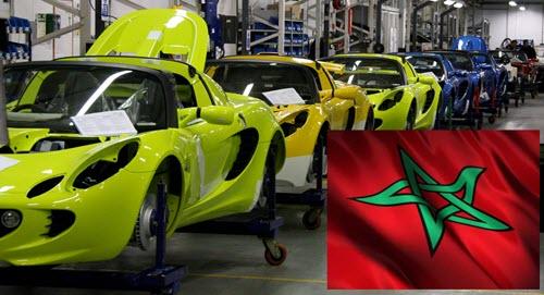 صناعة السيارات في المغرب