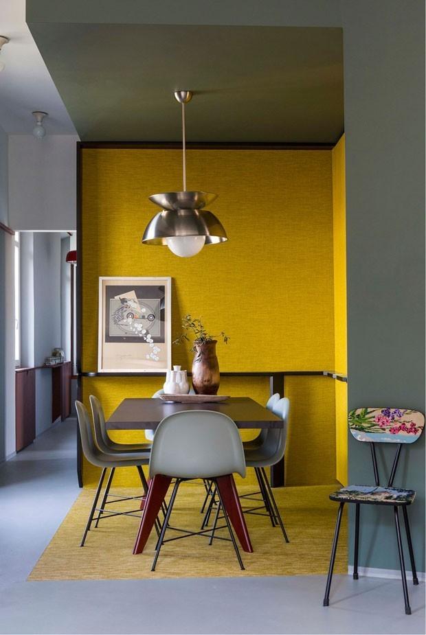 salas de jantar amarelas: Top 10