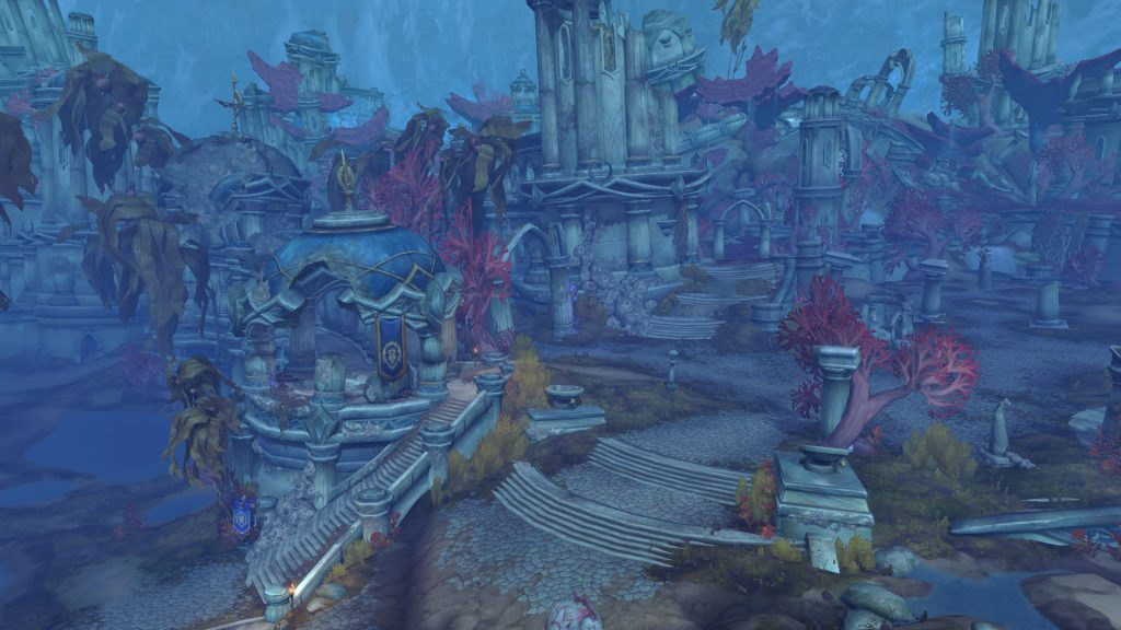 Nazjatar - one of the expansion areas of BfA.