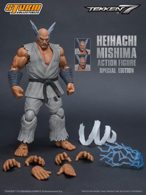 Heihachi Mishima Special Edition de Tekken 7 - Storm Collectibles