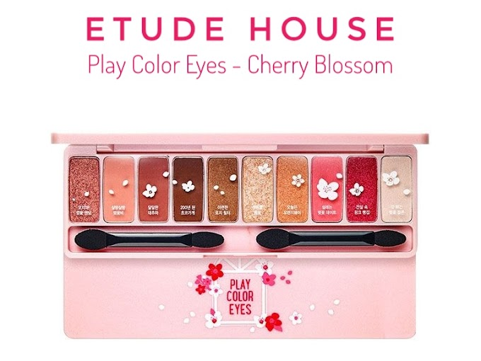 Review Etude House My Play Color Eyes - Cherry Blossom