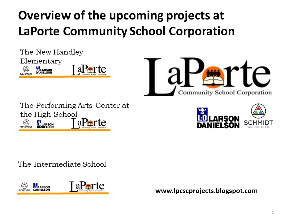Laporte community schools projects february board update for Laporte public schools