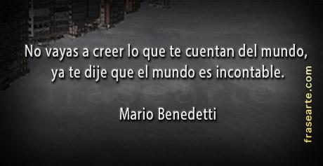 Mario Benedetti en frases