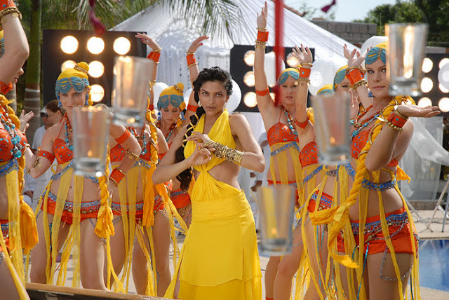 Indian Actress Deepika Padukone Latest PhotoShoot In Yellow Dress