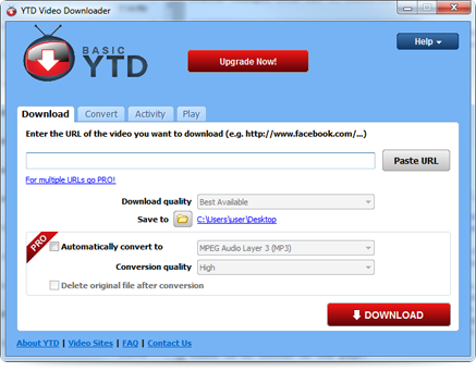 Youtube Downloader Pro YTD 5.1.0 Free Download