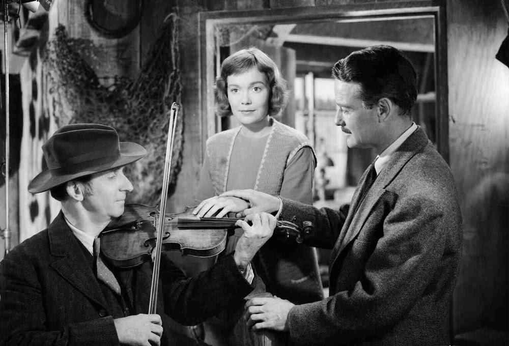 Johnny Belinda Lew Ayres deaf violin scene 1948
