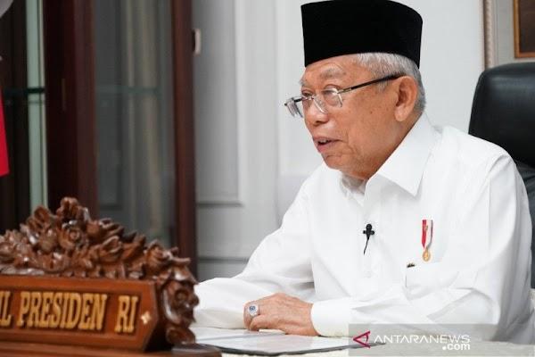 Wapres KH Ma'ruf Amin: Umat Islam Harus Introspeksi