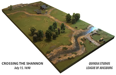 Crossing the Shannon - July 15, 1690