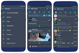BBM Mod Kryptonite V3.2.5.12 Apk [Update]