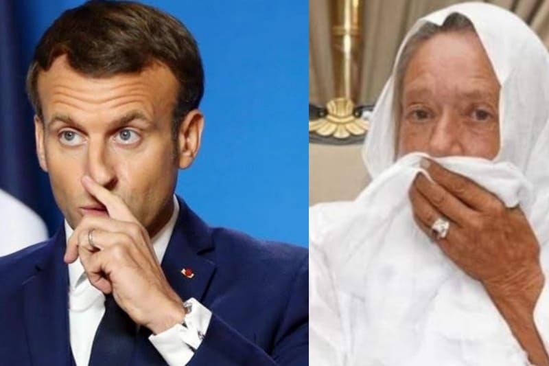 Pesan Maryam Petronin, Mualaf Wanita Kulit Putih untuk Presiden Prancis