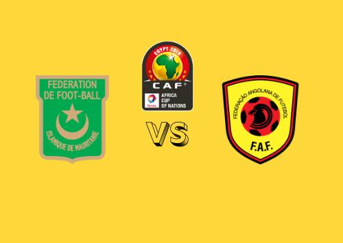 Mauritania vs Angola  Resumen