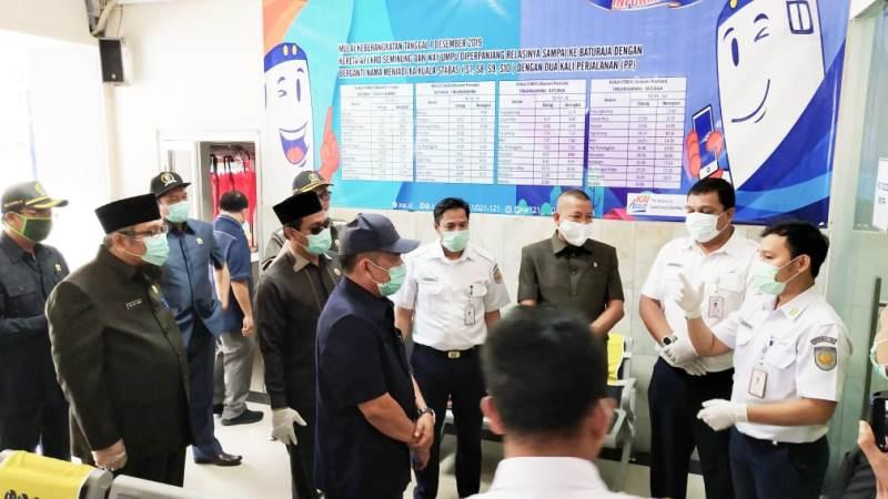Cegah Covid-19, Komisi IV DPRD Lampung Tinjau Simpul-Simpul Transportasi Publik