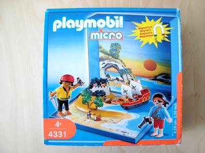 PLAYMOBIL MICRO 4331 PIRATES MAGNETIQUES DSC01214