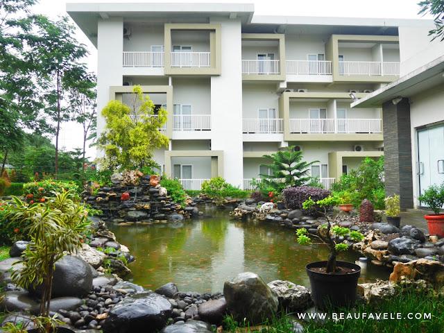 View dari Taman Indah Sari Resto